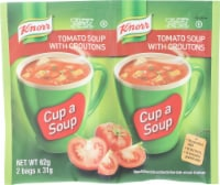 Knorr Tomato Soup Packets with Croutons 2 Count