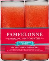 Pampelonne Blood Orange Spritz Sparkling Wine Cocktail 4 Cans - 4 cans / 8.44 fl oz