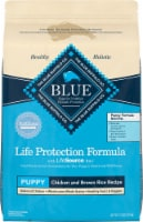Blue Buffalo Life Protection Formula Chicken & Brown Rice Dry Puppy Dog Food