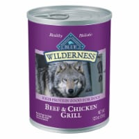 Blue Wilderness Beef & Chicken Grill Flavor Wet Dog Food