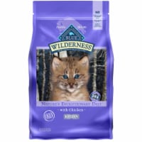 Blue Wilderness Nature's Evolutionary Diet Chicken Kitten Dry Cat Food