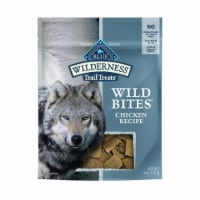 Blue Wilderness Trail Treats Wild Bites Chicken Recipe Dog Treats