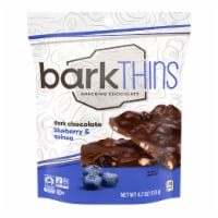 barkThins Dark Chocolate Blueberry with Quinoa Crunch Snacking Chocolate