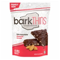 barkThins Dark Chocolate Almond & Sea Salt Snacking Chocolate Family Size