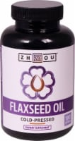 Zhou  Flaxseed Oil - 100 Softgels
