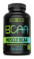 Zhou Muscle BCAA™ Maximum Muscle Recovery 2500 mg Veggie Capsules - 120 ct