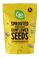 Go Raw Organic Sprouted Sea Salt Sunflower Seeds