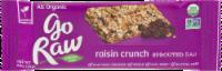 Go Raw Raisin Crunch Sprouted Bar