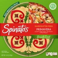 Spinato's Broccoli Crust Primavera Handcrafted Pizza