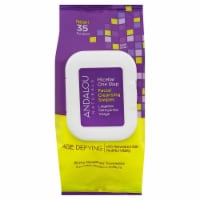 Andalou Naturals Age Defying Micellar One Step Facial Cleaning Swipes 35 Count