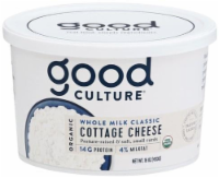 Good Culture Organic Whole Milk Cottage Cheese