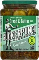 Suckerpunch Spicy Bread N' Better Gourmet Pickles - 24 fl oz