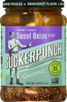 Suckerpunch Sweet Onion Gourmet Pickle Spears - 24 fl oz