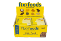 Brain Food - 12 pack gluten free, all-natural nutrition bar, granola bar, fx foods - 12 bars