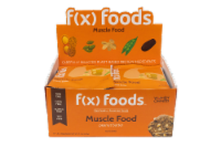 Muscle Food - 12 pack gluten free, all-natural nutrition bar, granola bar, fx foods - 12 bars