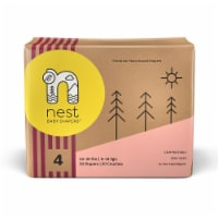 Sustainable Plant-Based Diapers  Nest Baby Diapers Size 4, 120 diapers - Size 4, 120 pieces