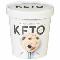 Keto Pint Peanut Butter Cup Ice Cream - 473 mL