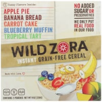 Wild Zora Instant Grain-Free Hot Cereal Variety Pack