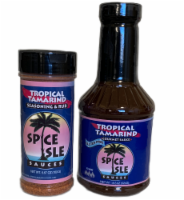 Spice Isle Sauces Tropical Tamarind 2-Pack - 2 bottles-18.5 & 6.67 oz.