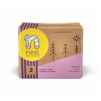 Sustainable Plant-Based Diapers  Nest Baby Diapers Size 2, 60 diapers