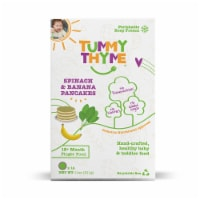 Tummy Thyme Spinach & Banana Pancakes, 14 pancakes per box (pack of 3, Frozen) - 3 pack/9 portions