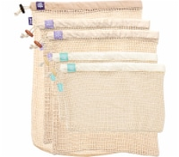 Lotus Sustainables Lotus Produce Bags - 100% Cotton Set of Five