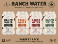 Lone River Ranch Water Variety Pack - 12 cans / 12 fl oz