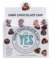 The YES Bar  Vegan Gluten Free Real Food Paleo Snack Bar   Dark Chocolate Chip - 6 Bars