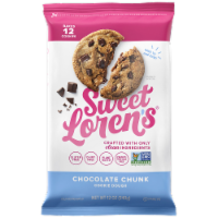 Sweet Loren's Gluten Free Chocolate Chunk Place & Bake Cookie Dough