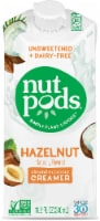 Nutpods Unsweetened Dairy-Free Hazelnut Flavored Almond & Coconut Creamer