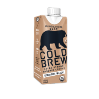 Wandering Bear Organic Straight Black Cold Brew Coffee - 11 fl oz