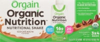 Orgain Iced Café Mocha Organic Nutritional Shake