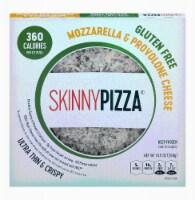 SkinnyPizza Mozzarella & Provolone Cheese Ultra Thin & Crispy Pizza