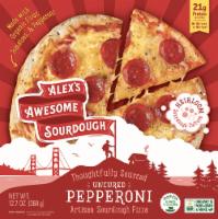Alex's Awesome Sourdough Pepperoni Frozen Pizza