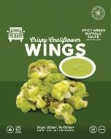 RollinGreens Spicy Green Buffalo Sauce Frozen Cauliflower Wings