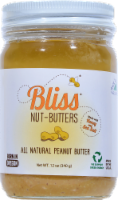Bliss All Natural Peanut Butter With Honey & Sea Salt