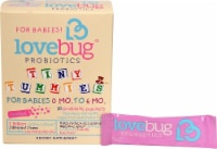 LoveBug Probiotics  Tiny Tummies™ For Babies 0 -6 Mo