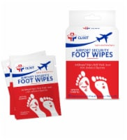 Airport Foot Wipes
