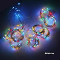 ANDROSET 300 LED Curtain Lights String 3M*3M USB Powered Waterproof Twinkle Wall Lights (mul - 1