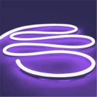 12V Flexible LED Strip Waterproof Sign Neon Lights Silicone Tube (5M - 16.4 FT) purple - 1