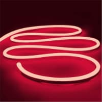 12V Flexible LED Strip Waterproof Sign Neon Lights Silicone Tube (1M - 3.3 FT) red