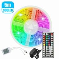 Led Strip Lights 16.4FT RGB Led Room Lights 5050 LED Tape Lights Color Changing - 1