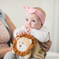 Happi Tummi:All Natural Fast Relief Waistband for Colic & Gas in Babies and Toddlers: Maw Maw - 1