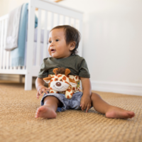 Happi Tummi:All Natural Fast Relief Waistband for Colic & Gas in Babies and Toddlers: Giraffe - 1