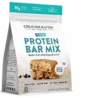 Creation Nation Whey Hip Chocolate Chip No Bake Gluten Free Protein Bar Mix