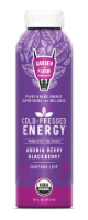 Garden of Flavor Cold-Pressed Energy Aronia Berry Blackberry Juice
