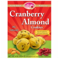 Luv Yu Cranberry Almond Cookies