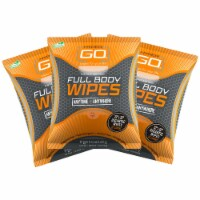 Full Body Wipes, Body Cleansing Wipes, Clean Off Odor and Sweat, (Unscented) - 3 pack - 1