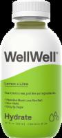 WellWell Hydrate Lemon + Lime Hydration Drink - 12 fl oz