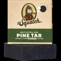 Dr. Squatch Pine Tar Natural Bar Soap - 5 oz